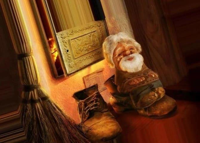 domovoy na bashmake - Как узнать есть ли в моем доме домовой