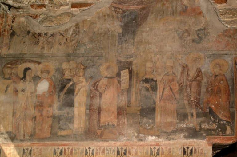 Покров день фреска
