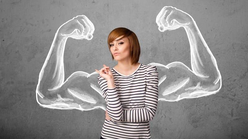 Фото сильной женщины