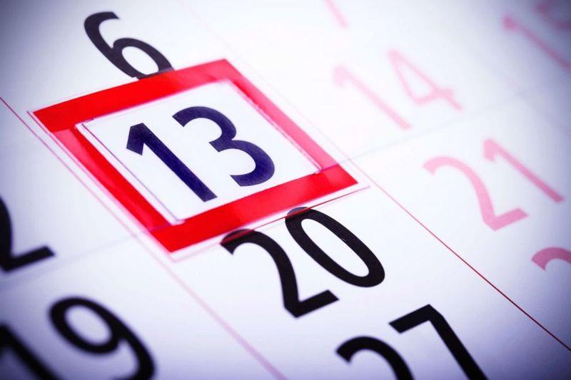 Фото 13 на календаре