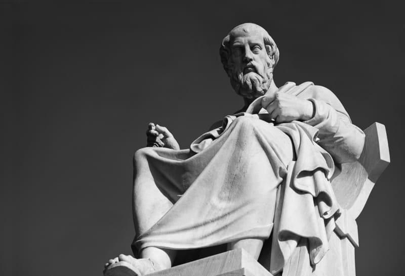 Фото статуи платона
