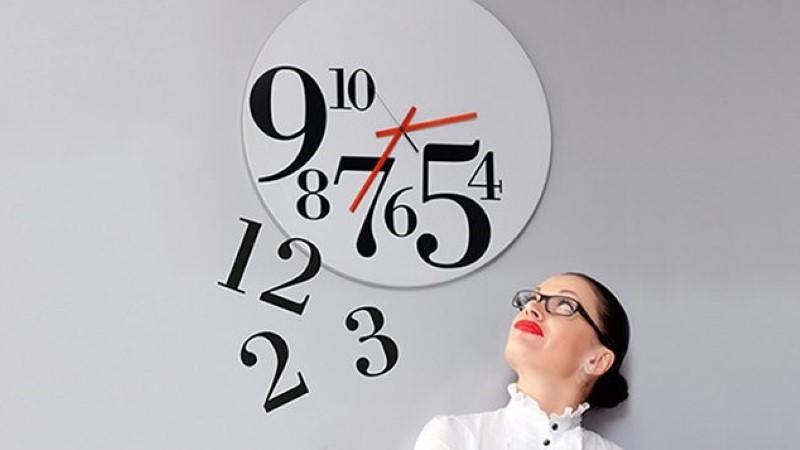 Изображение чисел на циферблате