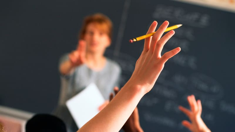 Фото школьного урока