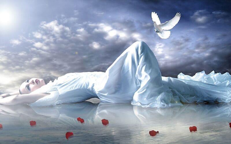 Фото сон в облаках
