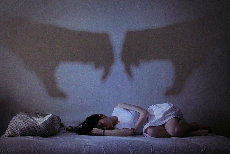 Фото плохого сна